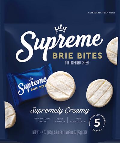 Supreme Cheese Brie Bites