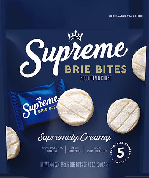 Packshot Supreme Brie Bites
